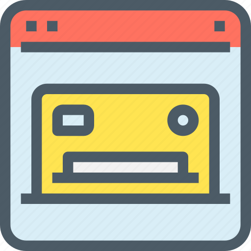 bank, banking, credit card, finance, online, payment, shopping icon