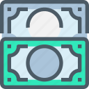 bank, banking, business, exchage, finance, money icon