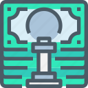 bank, banking, business, fiancial, finance, strategy icon