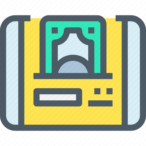 bank, banking, finance, money, online, payment, tablet icon