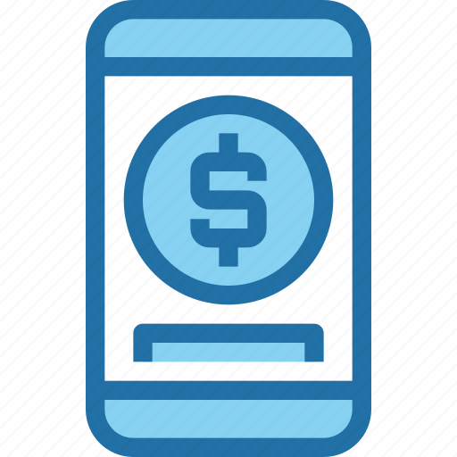 bank, banking, mobile, payment, smartphone icon