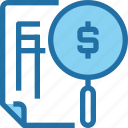 account, bank, banking, document, fiancial, finance, invoice icon