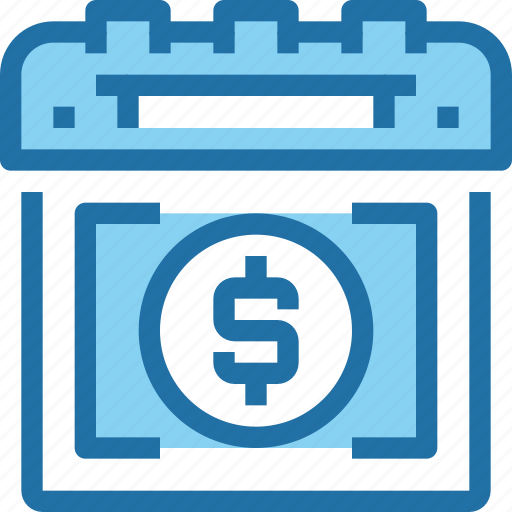 bank, banking, calendar, finance, planning icon