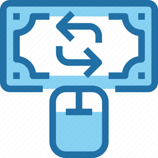 bank, banking, exchange, finance, money, online, payment icon