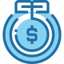 bank, banking, finance, growth, investment, money icon