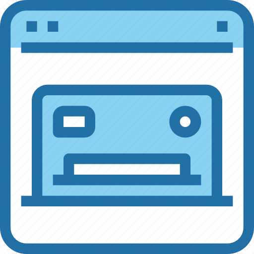 bank, banking, browser, credit card, online, payment icon