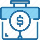 bank, banking, business, finance, financial, plan, search icon