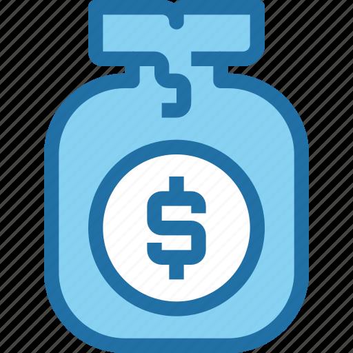 bag, bank, banking, finance, money, saving icon