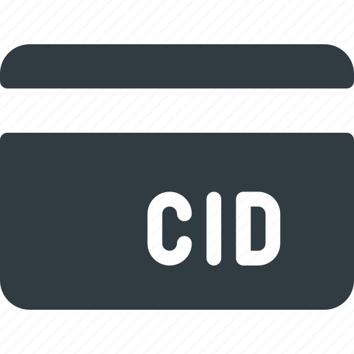 action, bank, card, cid, id icon
