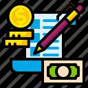 budget, check, finance, list, management, money, plan