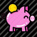bank, banking, economy, investment, money, piggy, save