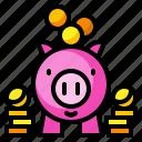 banking, currency, loan, money, piggybank, saving