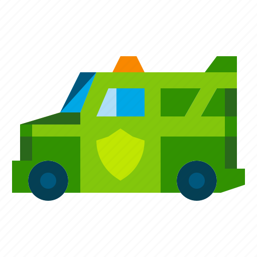 armored, bank, guard, money, transport, transportation, truck icon