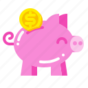 bank, banking, economy, investment, money, piggy, save
