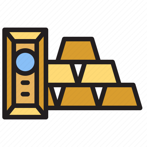 And, bank, business, finance, gold, ingots icon - Download on Iconfinder