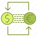 banking, business, cash, currency, exchange, finance icon