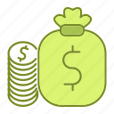 banking, business, currency, finance, money, payment icon