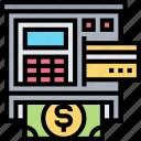 atm, cash, machine, withdraw, automatic