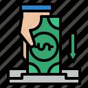 deposit, saving, money, banking
