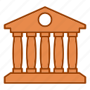 bank, banking, building, card, financial, money icon
