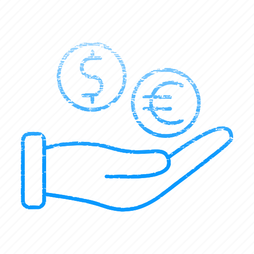 banking, funding, hand, payment, save icon