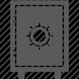 lock, safe, safe box, security, strong box icon