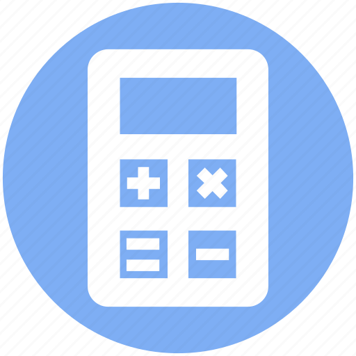 Accounting, calculate, calculator, machine, math, office, stationery icon - Download on Iconfinder