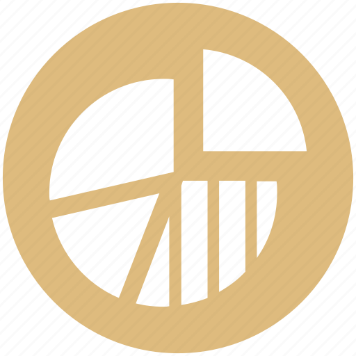 business, chart, finance, graph, money, pie chart, presentation icon