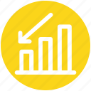analytics, business, chart, data, finance, sales icon