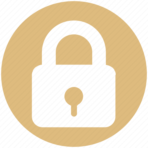 Lock, locked, padlock, password, secure, security icon - Download on Iconfinder