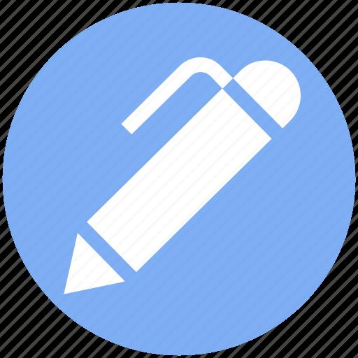 edit, ink pen, pen, pencil, write icon
