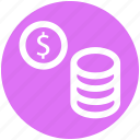banking, business, coins, currency, dollar, finance, marketing