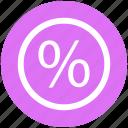divided, percentage, percentage sign, present, sell, sign, symbols