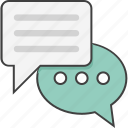 chat bubble, chat support, online chat, online support, user icon