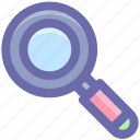 magnifier, magnifying glass, search, search glass, searching, searching tool, zoom icon
