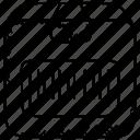 barcode scanner, code scanning, logistics., qr code, scanning machine icon