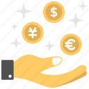 benefit, earnings, income, perks, profit icon