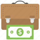 business income, business profitability, business revenue, earned income, sales revenue icon