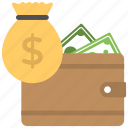 cash in hand, cash money, cash payment, cost of goods, small amount icon