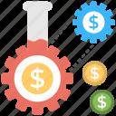 automated income, cash flow, finance management, passive income, profit icon