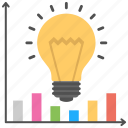 business development, business idea, business intelligence, economic growth, idea and growth icon