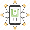 mobile money, mobile money transfer, mobile payment, mobile payment services, mobile transactions icon