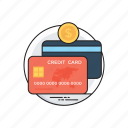atm, credit cards, debit cards, e-transaction, smart cards icon