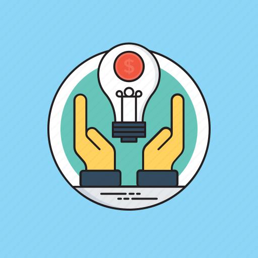 business idea, business strategy, profitability, profitable idea, startup plan icon