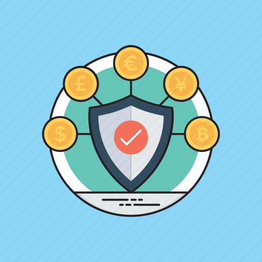 Bank security, finance protection, financial defense, financial security, savings icon - Download on Iconfinder