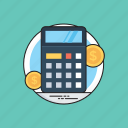 accounting, business evaluation, calculator, financial calculations, mathematics icon