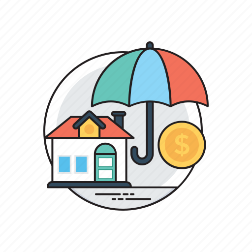 home insurance, home risk, house safety, property insurance, safety for home icon