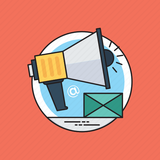 digital newsletter, email advertising, email marketing, newsletter advertisement, newsletter marketing icon