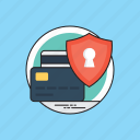 e-wallets, finance protection, safe payment, safety transfer, secure transaction icon