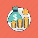 budget saving, economy, finance protection, income savings, profit and gain
